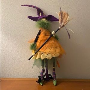 Department 56 Krinkles Cat Witch decoration